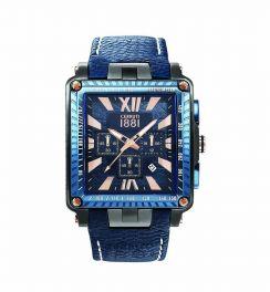 ساعت مردانه چروتی CRA012SUBL03BL
